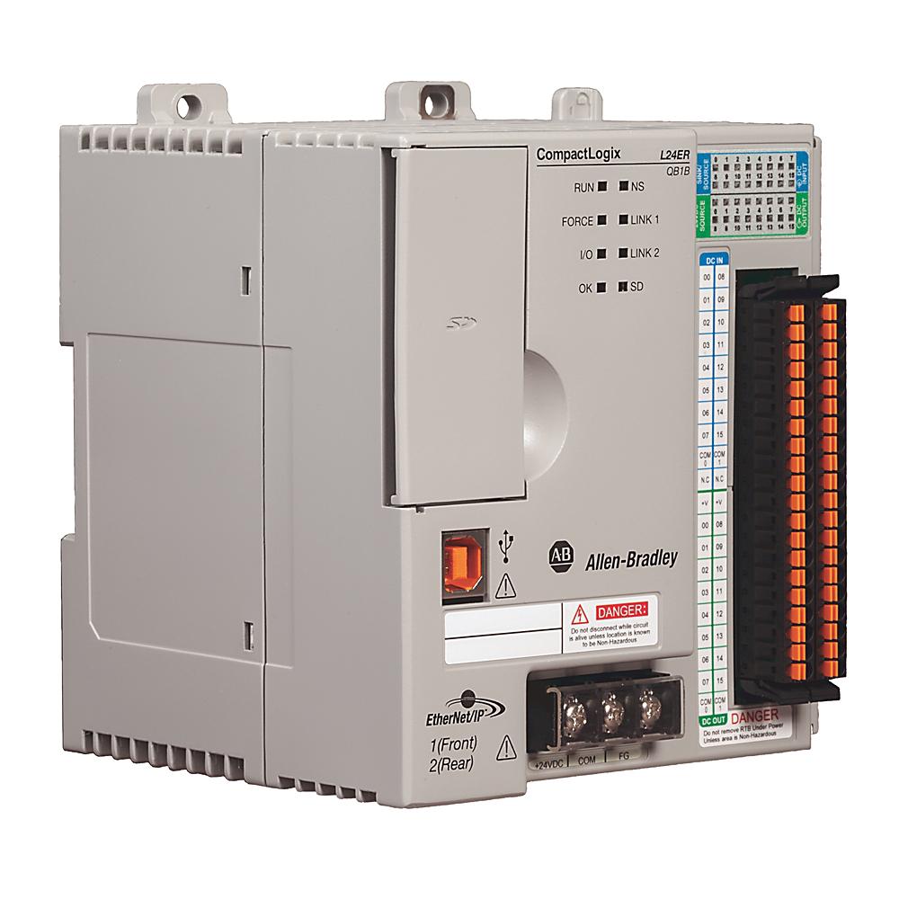 Allen-Bradley 1769-L24ER-QB1B Compactlogix 750 kB Di/O Controller