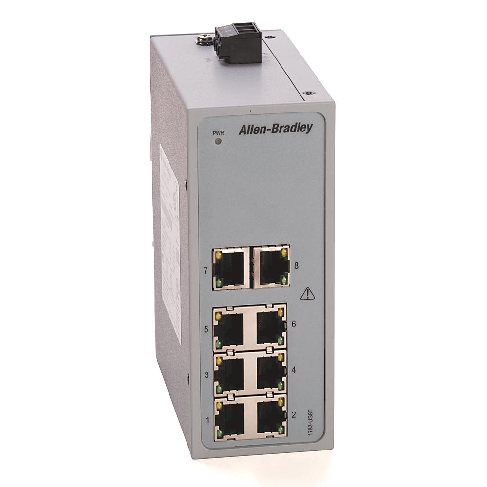 Allen-Bradley 1783-US8T Stratix 2000 Unmanaged Switch