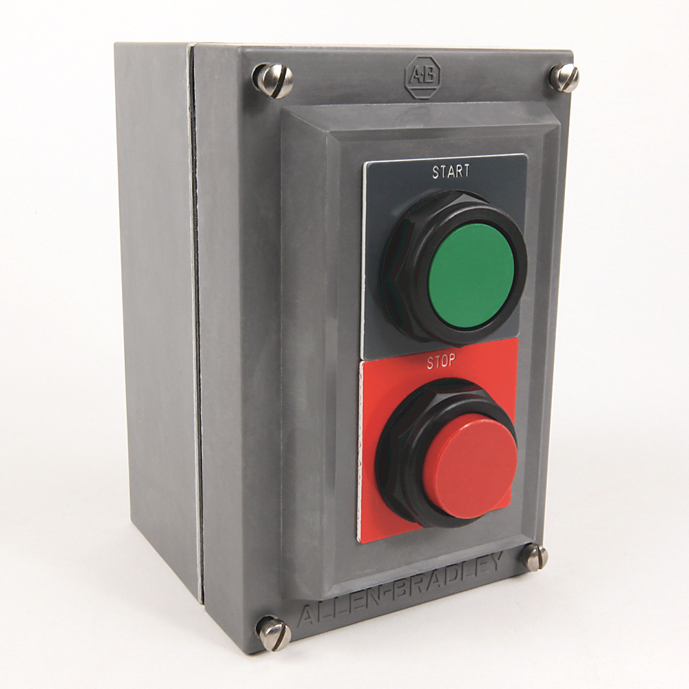 Allen-Bradley 800H-2HA4R 30 mm Push Button Station