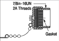 Allen-Bradley 1485A-C1 Mini Round Media Sealing Cap
