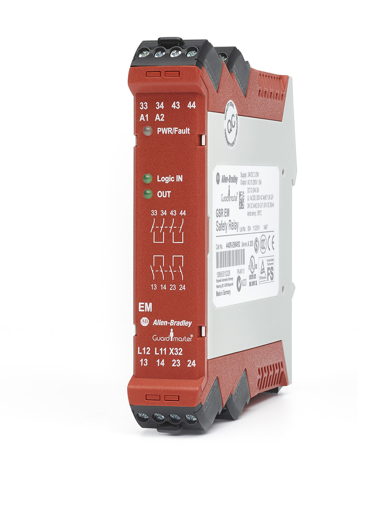 Allen-Bradley 440R-EM4R2 Guardmaster Safety Relay Expand Module