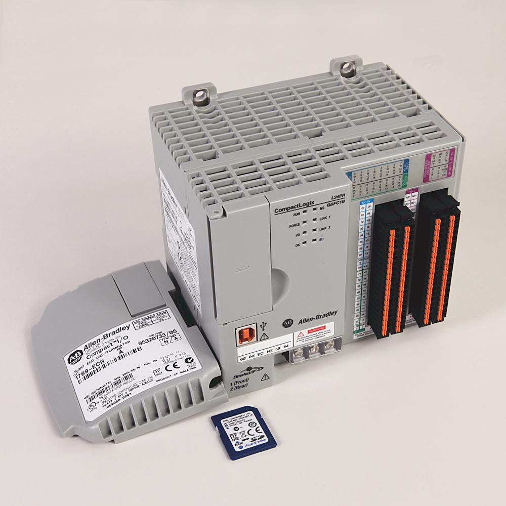 Allen-Bradley 1769-L24ER-QBFC1B Compactlogix 750 kB Di/O Ai/O Controller