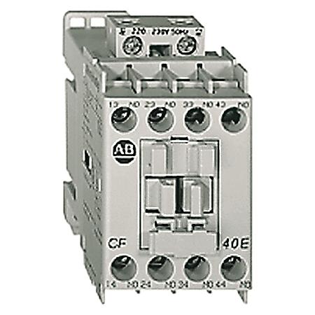 MCS-CF Control Relay, 3 N.O. / 1 N.C., 120V 50Hz
