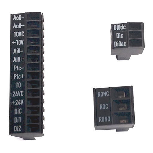 PF750 Safe Speed Monitor Terminal Blocks