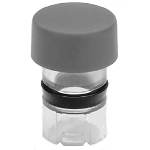 800MR Color Caps, Non-illuminated, Extended Head, Gray