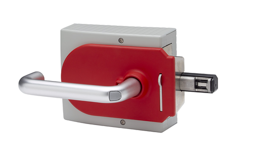 Handle Assembly, 442G Access Box, Left-Hinged Door, with Bolt Locking Mechanism