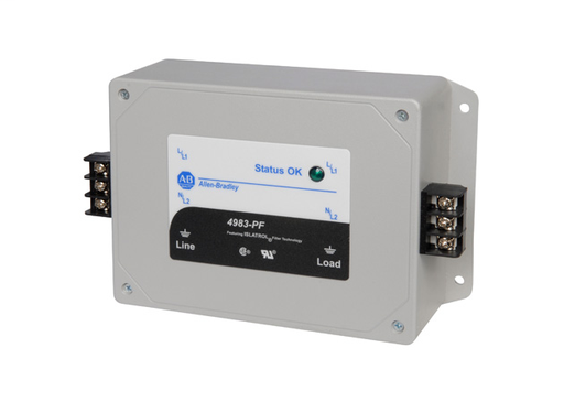 4983 Surge and Filter Protection, Panel/Flange Mount, Filter UL 1283, 120V, 15A, No Pole Configuration