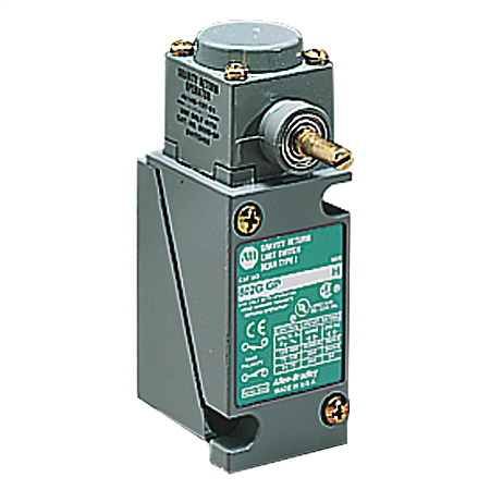 Limit Switch, Lever type, gravity return, 1 N.O. / 1 N.C., Travel to Operate : Adj. from 10° to 180°, Torque to Operate : 0.018Nm (2.5oz-in) (without lever), Travel to Reset : 10°, Max Travel : 360° CW or CCW