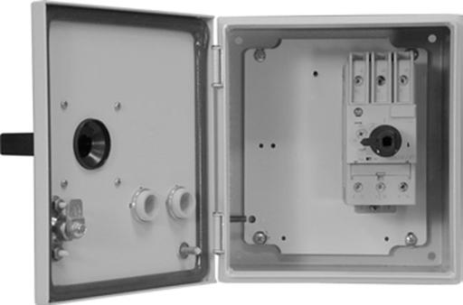 140M Enclosed MPCBs, NEMA Type 3/4/12 - IP66 (Metal), 140M-D8E (D-Frame), High Break Plus, 14.5 - 20 A, Without Aux. and Trip Contacts