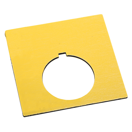 800T and 800H Accessories, 800H Legend Plate,Gold (Large Size),Blank,Gold