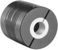 High Performance Flexible Coupling, 10mm to 1/2 Inch