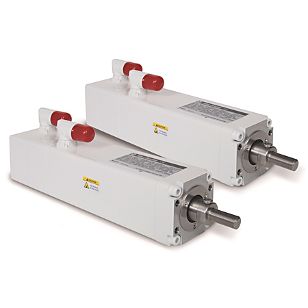 MP-Series Heavy Duty Electric Cylinders, Actuator Rod w/Male Rod End with Food Grade White Paint Option,152.4 mm (6.0 in.), 460V AC, 1024 SIN/COS Multi-turn ABS Encoder (150...450mm stroke lengths), 24 VDC Brake