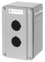 800R Push Button Enclosure,Surface,1 Hole,Type 4/13, Die Cast Aluminum Type 4/13