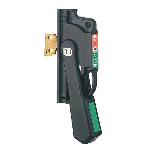Non-metallic handle for 30A to 200A
