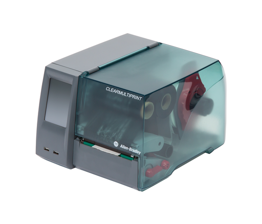 ClearMultiPrint, Terminal Block, Cable and Wire Marking Device, Thermal Transfer Printing Technology, 100-240VAC, Includes initial ribbon, power cord, USB cable, and Software/Installation documentation (DVD)
