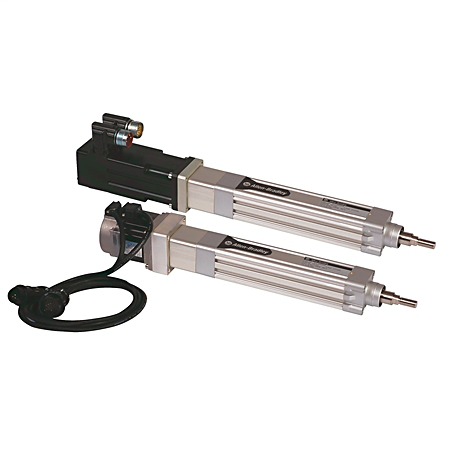 MP-Series Electric Cylinders, 200 mm (8.3 in.), 460V AC, Multiturn 1024 sin/cos ABS Encoder, No Brake