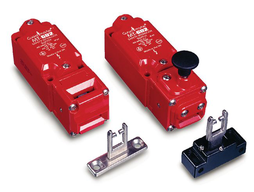 Tongue Switch - MT-GD2: Contacts(Safety and Aux): 2 Normally Closed, 2 Normally Open, BBM Preference: Break Before Make, Actuator: Fully-Flex, Model Type: Standard, Conduit Entry: 12-Pin M23