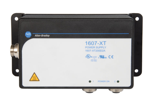 1607-XT OnMachine Power Supply, 200W (or two (2) 91 W outputs), 24 V DC, 2 Outputs, Wide Ranging, 90-264 V