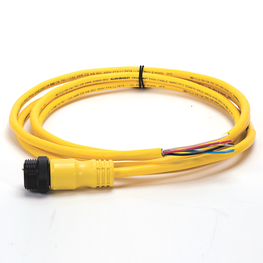 DeviceNet, Trunk End: Mini, Straight Male, Device End: Cable, Thin Media, Yellow CPE