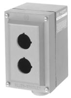 800R Push Button Enclosure,Surface,3 Hole,Type 4/4X/13, Rosite Glass Polyster Type 4/4X/13
