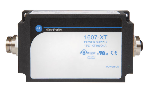 1607-XT OnMachine Power Supply, 91 W, 24 V DC, 1 Output, Wide Ranging, 90-264 V