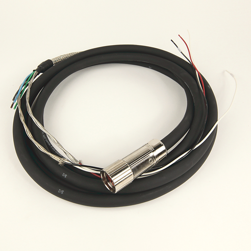 Cable,PW16AWG&BK,DIN M23 Type 4 Connector,Non-Flex,20M
