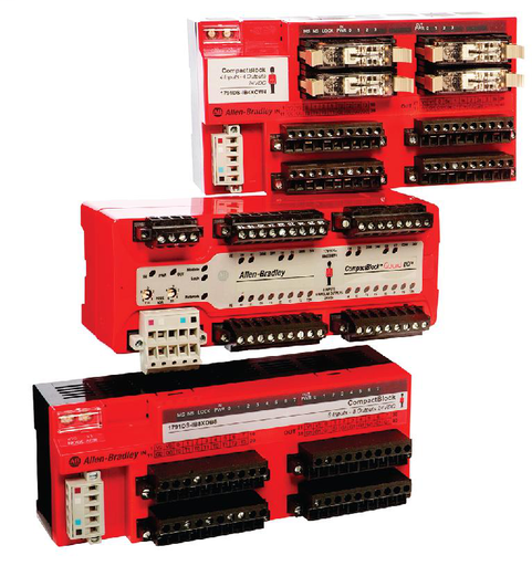 DeviceNet Safety CompactBlock Input Module, 12 Inputs, 4 Test Outputs