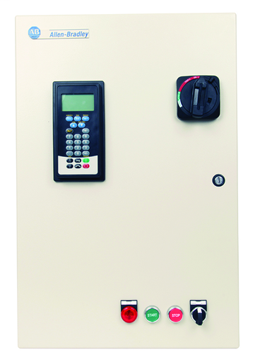 SMC-Flex Solid-State Controller with Circuit Breaker, NEMA Type 4/12 (IP65), 43 A, 7.5...30Hp @ 460V AC, Input Volt.: 400...480V, Control Volt.: 100...240V AC, Hp Rating:30 Hp, w/ Hand-Off-Auto SS, w/ Control Circuit Transformer