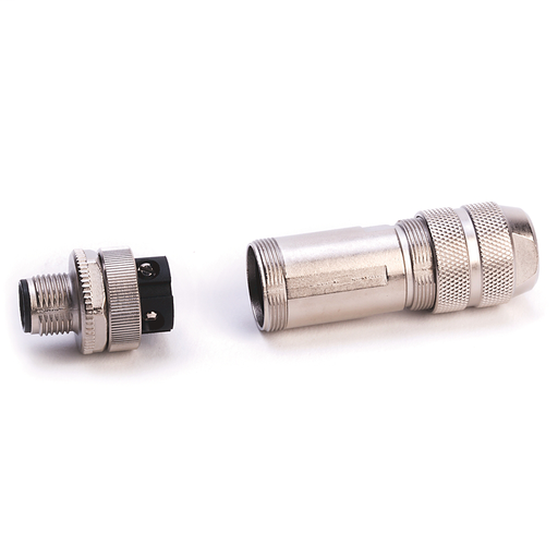 M12 IDC connector for 600V Ethernet cable
