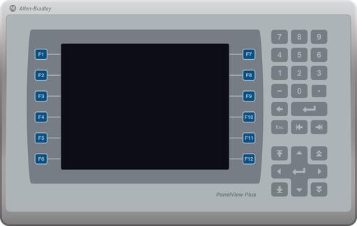 A B 2711p B7c22a9p B Panelview Plus 7 Performance Terminal