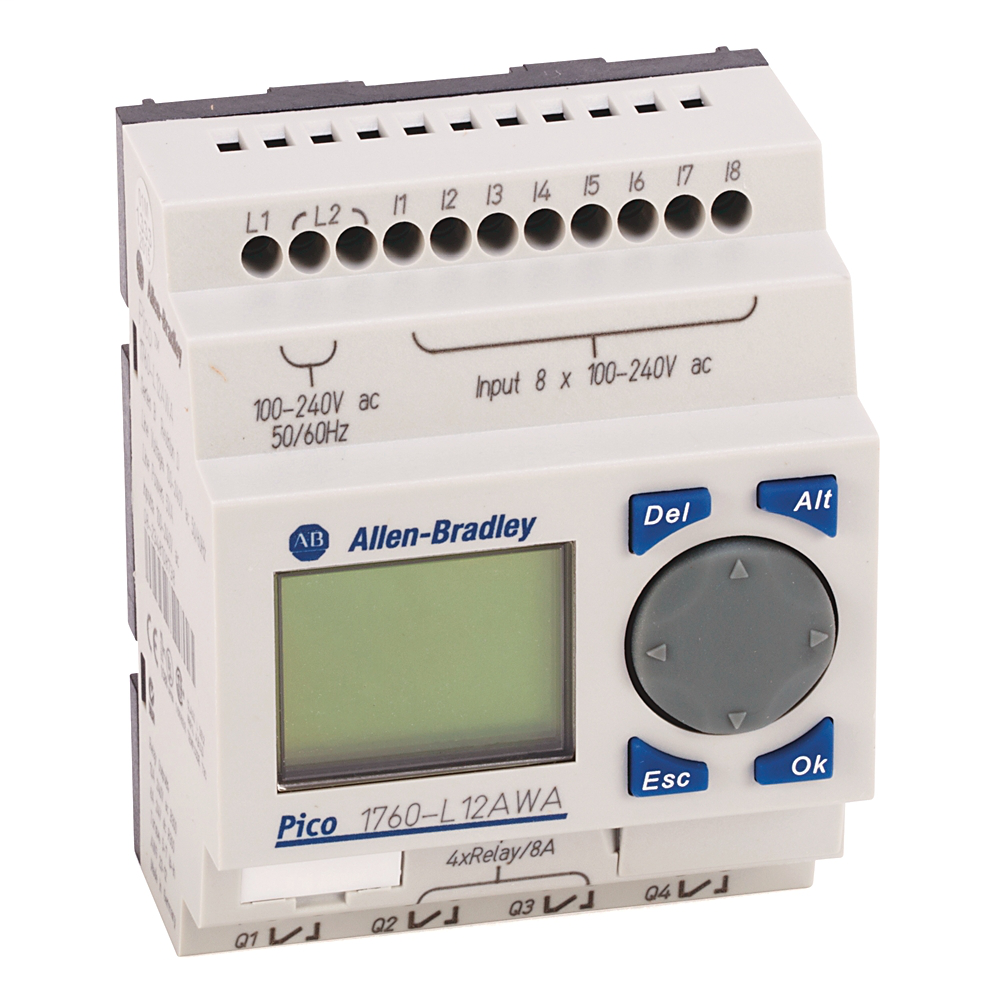 A-B 1760-L12BWB-NC PICO CONTROLLER 24VDC IN/RELAY OUT