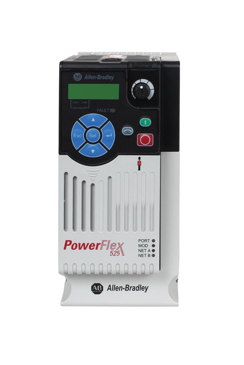 A B 25b D010n104 Powerflex 525 480vac 10 5a 5hp Drive