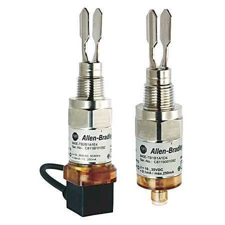 Allen Bradley 840E-TB1B3A1D4 10 to 35 VDC 15 mA PNP Solid State Level Sensor