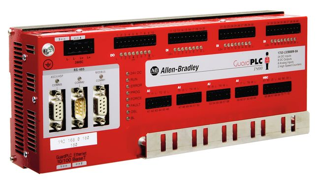 GuardPLC 1800 Safety Controller, PROFIBUS DP Slave