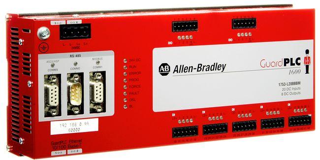 GuardPLC 1600 Safety Controller, Modbus RTU Slave