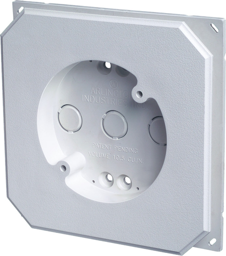 Arlington 8141f - Exterior light fixture mounting plate ...