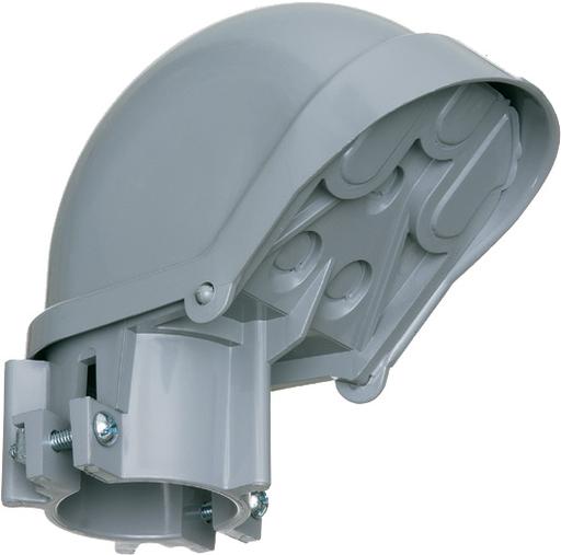 """ARL PVC105 2"""" PVC ENTR CAP E998J"""