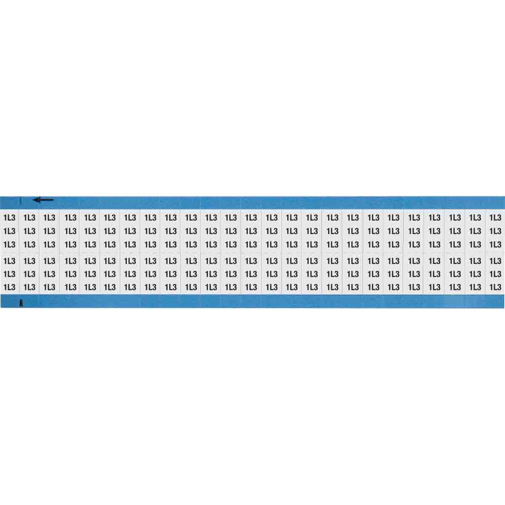 BRDY WM-1L3-SC-PK MACHINE TOOL SYMBOL - LEGEND: 1L3