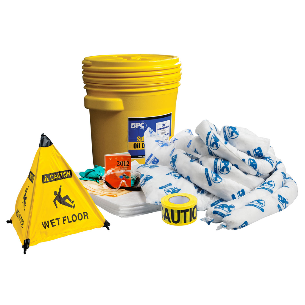 Brady,SKO-20-RESCUE,RESCUE KITS W/ FLOOR SIGN & CAUTION TAPE
