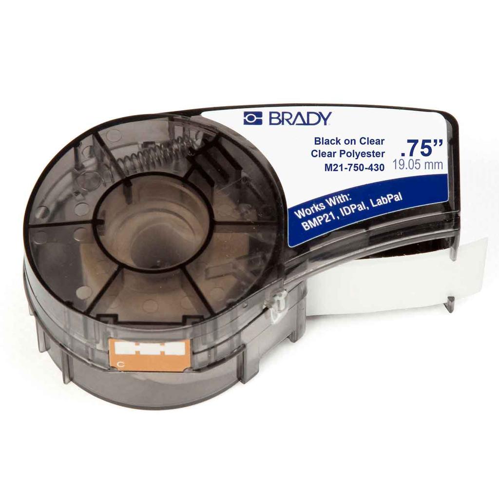 BRDY M21-750-430 0.750 IN X 21 FT (19.05 MM X 6.40 M)