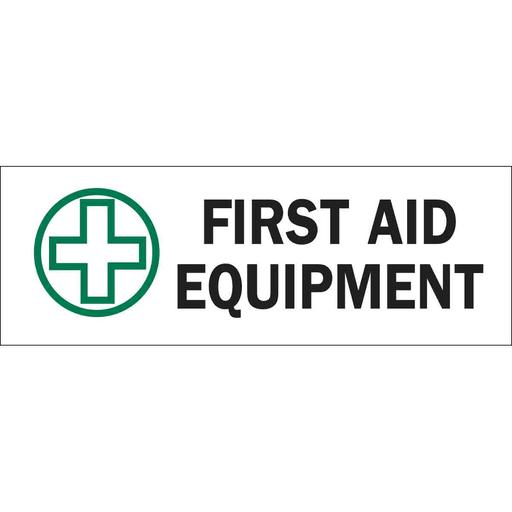 BRA 85360 3-1/2X10 FIRST AID SIGN