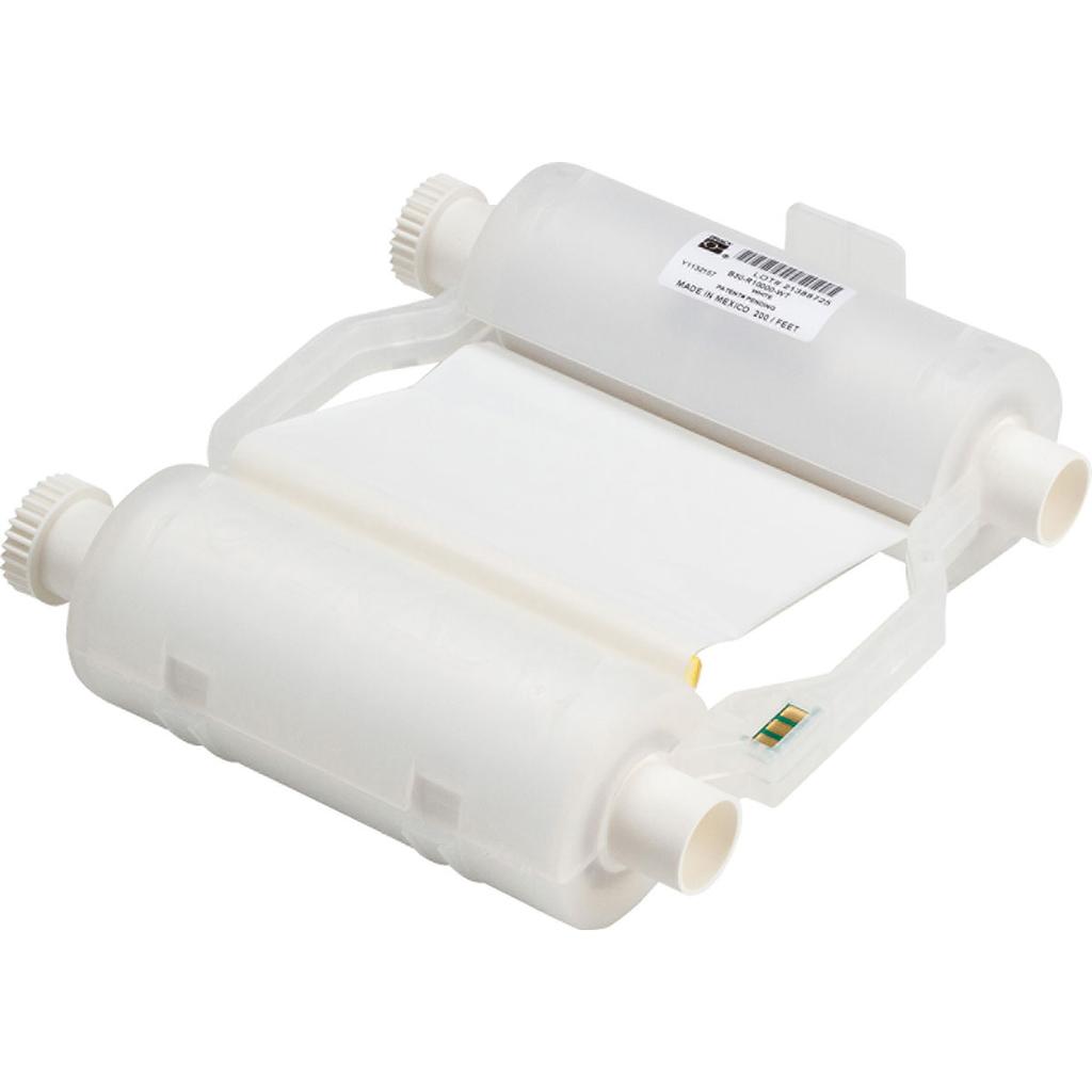 BRADY WIREMARKERS B30 Series R10000 Printer Ribbon, White