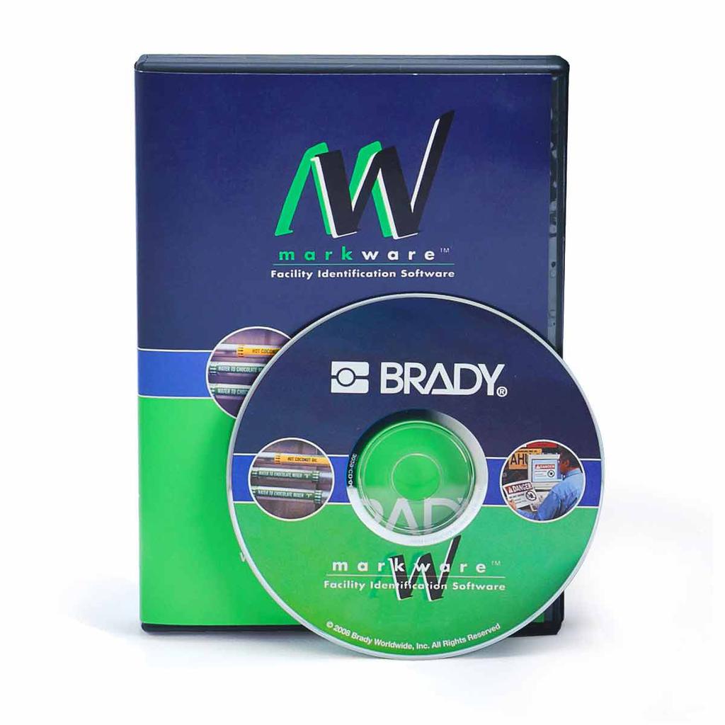 Brady 20700 Markware Deluxe Americas Cd-Rom Kit