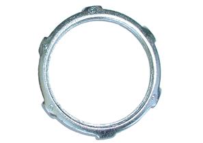 "Bridgeport 101-S 1/2"" UL Conduit Locknut, Steel"