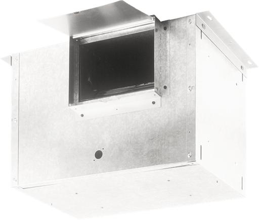 In-Line Ventilator; 1214 CFM Straight Through, 6.7 Sones; 1076 CFM Right Angle, 3.5 Sones. 120V