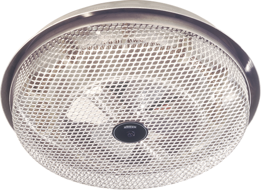 BRO 154  DISCONTINUED FAN-FORCED CEILING HEATER ALUMINUM LOW-PROFILE ONLY 2-3/4 PR 1250W 120VAC