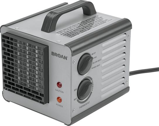 Broan 6201-Heater 1500 W Big Heat Thermostat