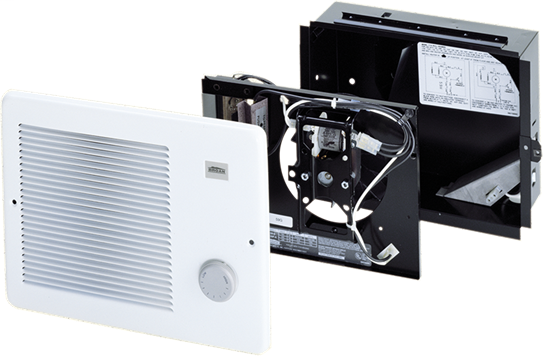 Project Pack Finish Unit. Use 171H Project pack housing for rough-in. 500W 120/240VAC, 375W 208VAC. White grille.