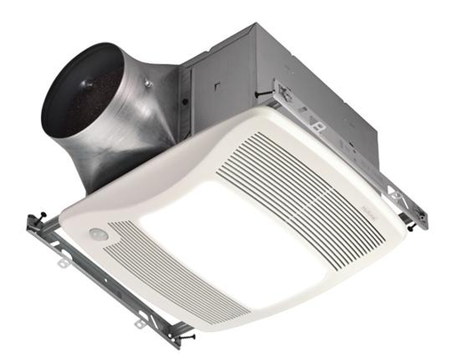 ULTRA GREEN Series Motion Sensing 80 CFM Multi-Speed Ventilation Fan/Light, with white grille, Recognized as the Most Efficient of ENERGY STAR 2015