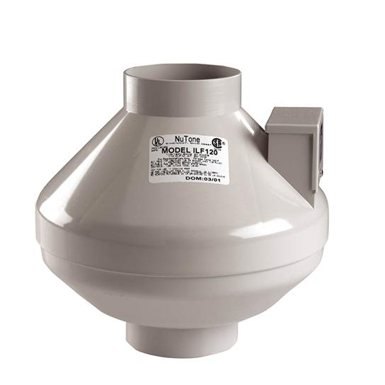 Remote In-Line Fan with 8-inch duct, 360 CFM, ENERGY STAR Qualified Ventilation Fans